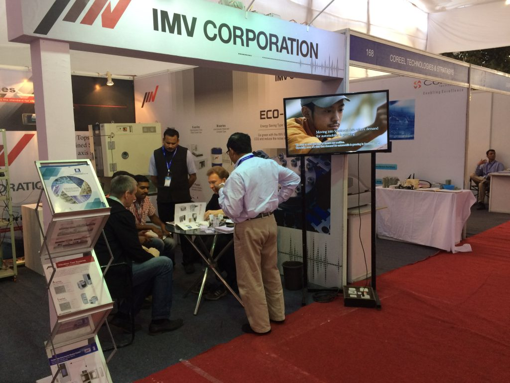 IMV booth stand at SIAT EXPO 2017