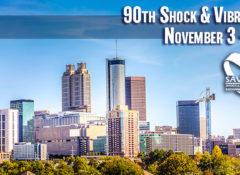 90th Shock & Vibration Symposium in Georgia